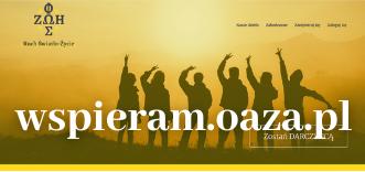 Link do wspieram.oaza.pl