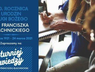 Turniej wiedzy o ks. F. Blachnickim