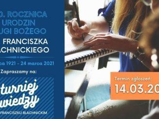 Turniej wiedzy o ks. Franciszku Blachnickim - przypomnienie