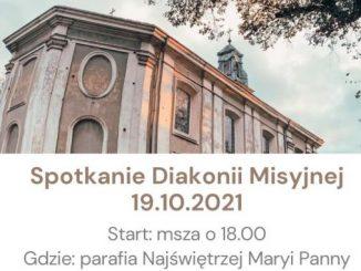 Spotkanie Diakonii Misyjnej